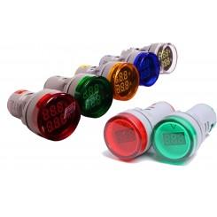 چراغ سیگنال ولتمتر دار JBH