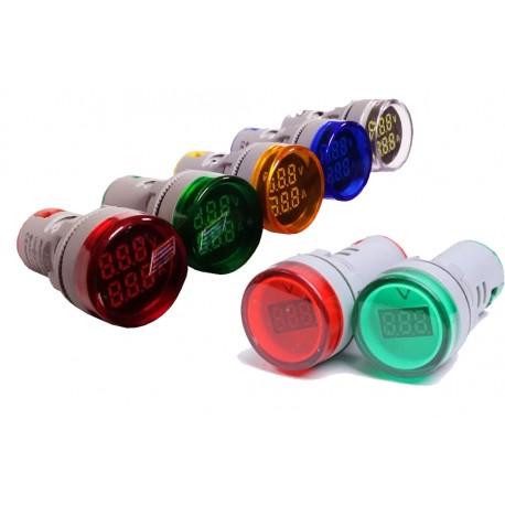 چراغ سیگنال ولتمتر