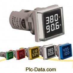 چراغ سیگنال های آمپرولتمتر مربع AC برند JBH